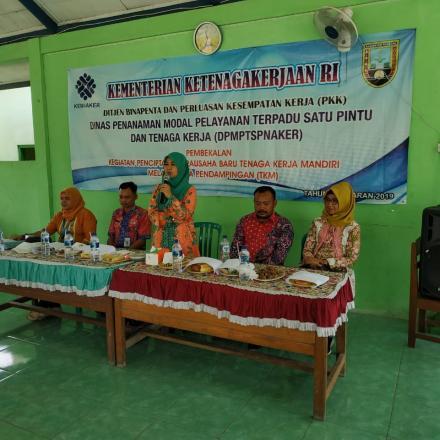 Pelatihan Pengolahan Hasil Laut Desa Bonang 2019