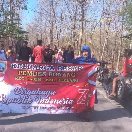 Album : karnaval HUT RI Desa Bonang Kec. Lasem Kab. Remban