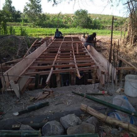 Album : Pembangunan Jembatan Pertanian Desa Bonang 2018